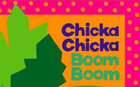 Chicka Chicka Boom Boom front cover of book pictures
