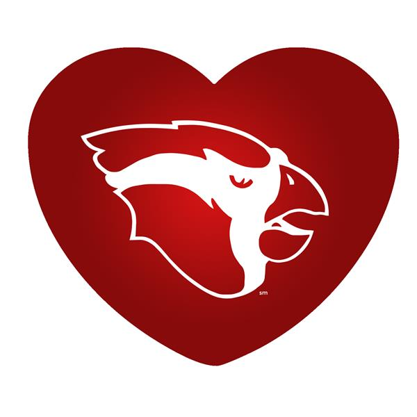 Cardinal Logo in Heart