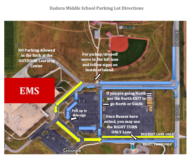 New EMS Arrival & Dismissal Procedures